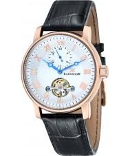 Thomas Earnshaw ES-8042-03 Mens westminster reloj de la correa de piel de cocodrilo negro