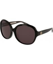 Gucci Damas gg0080sk 001 gafas de sol