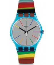 Swatch SUOS106 Reloj de cepillo de color