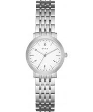 DKNY NY2509 Las señoras de plata Minetta reloj de pulsera de acero