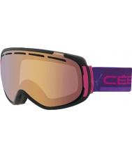 Cebe CBG124 Siente en rosa y negro - rosa de la luz del flash de oro gafas de esquí
