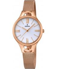 Festina F16952-1 Señoras de la señorita chapado en oro rosa reloj pulsera