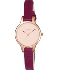 Radley RY2414 Señoras de Wimbledon reloj de la correa de cuero de rubí