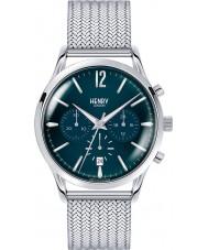 Henry London HL41-CM-0037 Mens knightsbridge reloj cronógrafo de plata azul