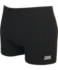 Zoggs 59408030 Mens Cottesloe corredor de la cadera troncos de natación negro - tamaño 30