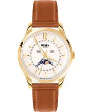 Henry London HL39-LS-0148 reloj de color marrón pálido champán Westminster