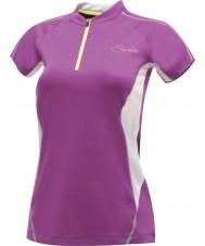 Dare2b Las señoras revelan la púrpura del funcionamiento t-shirt