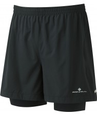 "Ronhill RH-002207R009-L Mens gemelas paso 5 ""cortos"