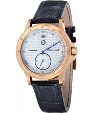 Thomas Earnshaw ES-8045-05 Ashton para hombre de cuero negro reloj de la correa