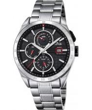 Lotus L18244-6 Para hombre reloj de múltiples funciones de plata