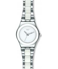 Swatch YLS141GC Señoras tresor blanco reloj