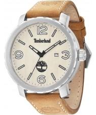 Timberland 14399XS-07 Para hombre de Pinkerton cuero marrón reloj de la correa
