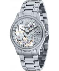Thomas Earnshaw ES-8049-11 Bauer para hombre reloj esquelético mecánico de plata