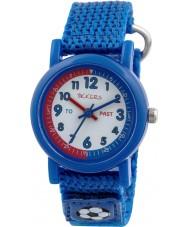 Tikkers TK0113 reloj de la correa de nylon azul chicos