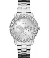 Guess W0335L1 Damas dazzler reloj de pulsera de acero de plata
