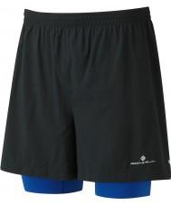 "Ronhill RH-002207R400-XL Mens gemelas paso 5 ""cortos"