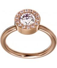 Edblad 83275 Señoras thassos oro rosa anillo plateado - q tamaño (l)