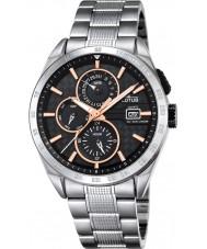 Lotus L18244-7 Para hombre reloj de múltiples funciones de plata