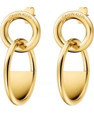 Calvin Klein KJ8GJE100100 Pendientes con cierre de mujer