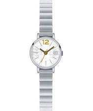 Orla Kiely OK4005 Frankie damas reloj de pulsera de acero de plata