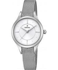 Festina F16958-1 Las señoras de plata mademoiselle reloj de pulsera de acero