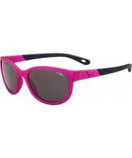 Cebe Katniss (edad 7-10) de cristal mate de color rosa 1500 gafas de sol grises de luz azul