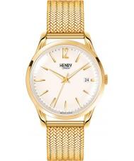 Henry London HL39-M-0008 Damas westminster reloj de oro de mediana champán