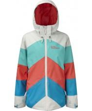 Westbeach TFB1017-XS Las señoras de la chaqueta multicolor kadenwood - el tamaño de xs