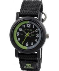 Tikkers TK0114 reloj de correa de nylon negro chicos