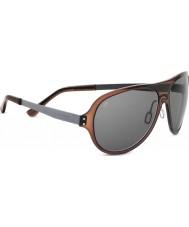 Serengeti Alice cristal polarizado gafas de sol CpG phd de color marrón oscuro
