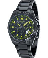 Swiss Eagle SE-9062-77 reloj cronógrafo para hombre negro ingeniero