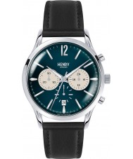 Henry London HL41-CS-0039 Mens knightsbridge azul reloj cronógrafo negro