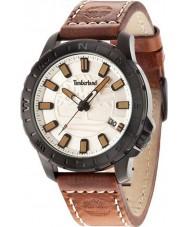 Timberland 14647JSB-07 Mens wayland reloj marrón correa de cuero