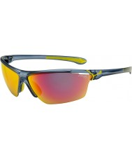 Cebe Cinetik gran mate translúcido gafas de sol azules
