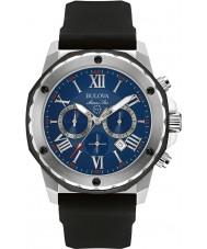 Bulova 98B258 Hombre de All Star marina reloj cronógrafo negro