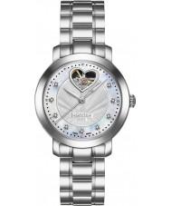 Roamer 556661-41-19-50 Dama amor de acero de plata reloj pulsera