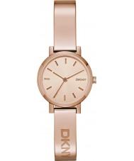 DKNY NY2308 Las señoras se levantaron Soho reloj de oro
