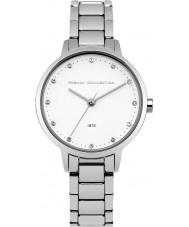 French Connection FC1281SM Las señoras reloj pulsera de acero de plata