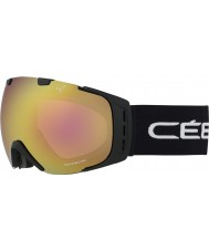Cebe CBG84 Orígenes l bloque negro - rosa de la luz del flash de oro gafas de esquí