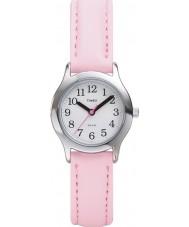Timex T79081 Los niños de color rosa blanca mi primer reloj