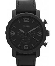 Fossil JR1354 Reloj cronógrafo para hombre negro nate