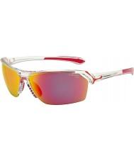 Cebe gafas de sol de color rosa de cristal salvaje