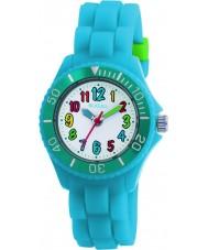Tikkers TK0012 Niños reloj fluorescente azul