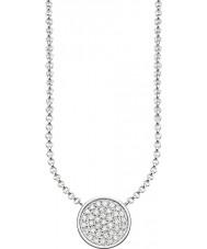 Thomas Sabo KE1491-051-14-L45v Las señoras de plata collar de círculos espumosos