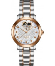 Roamer 556661-46-19-50 Dama amor reloj de pulsera de acero de dos tonos