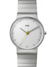 Braun BN0211SLBTG Reloj para hombre pulsera de plata de acero delgado clásico