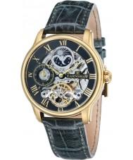 Thomas Earnshaw ES-8006-09 Reloj para hombre automático de la longitud de cuero verde