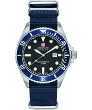 Swiss Military 6-4279-04-007-03 Para hombre león marino de nylon azul reloj de la correa