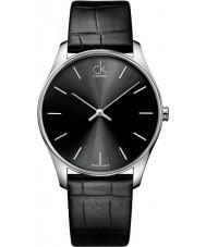 Calvin Klein K4D211C1 Reloj para hombre negro clásico