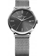 Maurice Lacroix EL1087-SS002-310 Mens Eliros reloj de malla negro y plata